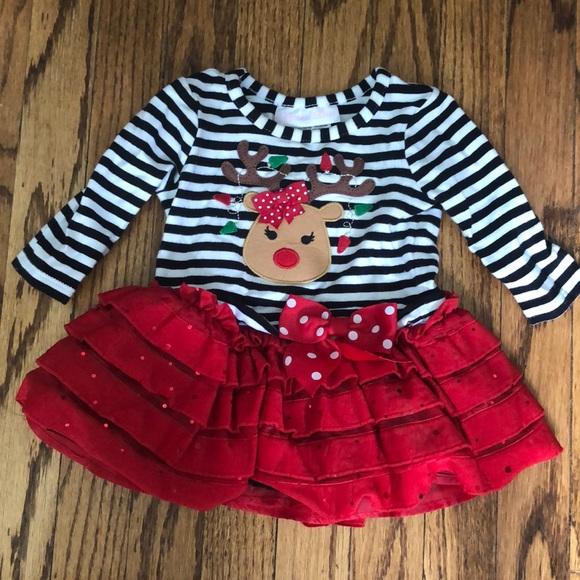 eb4753d43 Bonnie Baby Dresses | Christmas Dress | Poshmark